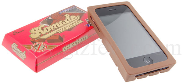 homade chococase for iphone