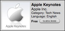 apple keynotes podcast