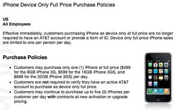 iphone no contract