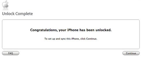 iphone officially unlock