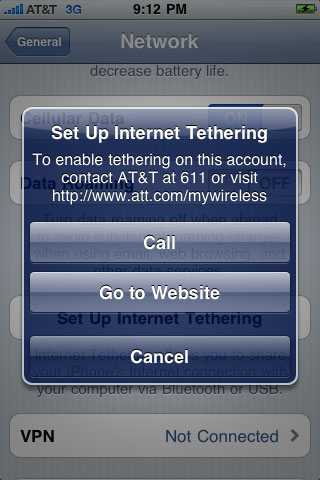 at t internet tethering coming with iphone os 4. Black Bedroom Furniture Sets. Home Design Ideas