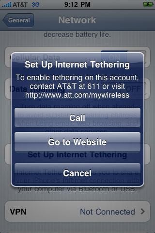 att tethering iphone os 4