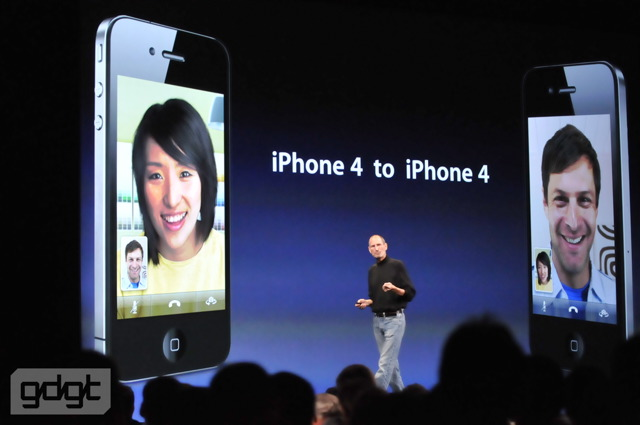 FaceTime for iPhone 4