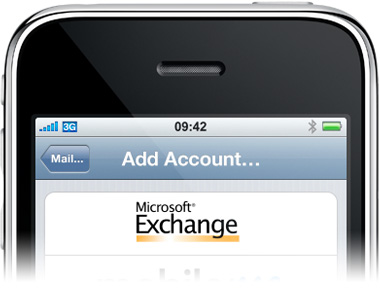 Microsoft Exchange on iPhone