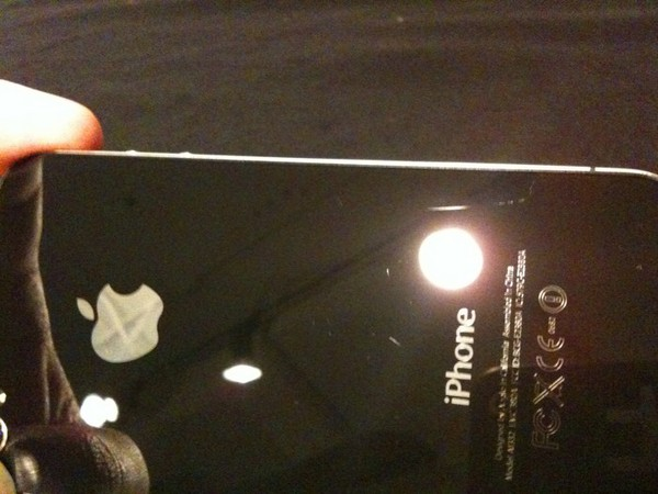 iPhone 4 Screen Scratched
