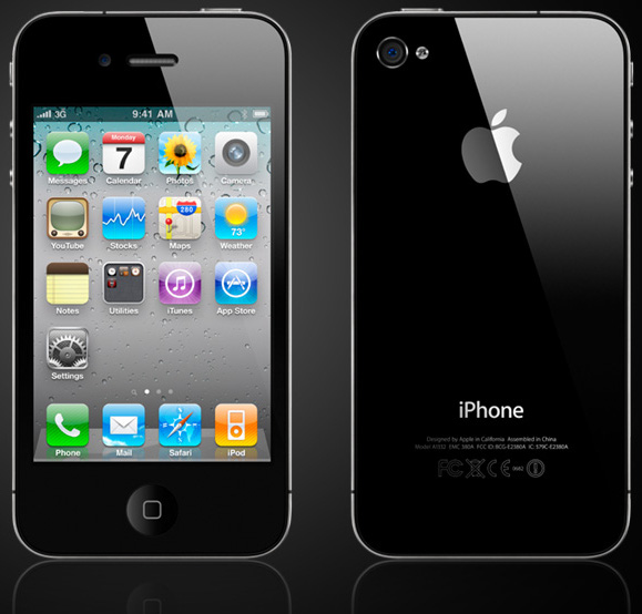 iPhone 4 front and back glass