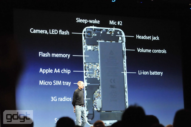 inside iPhone 4