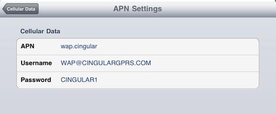 Use iPhone 4 Data on iPad 3G