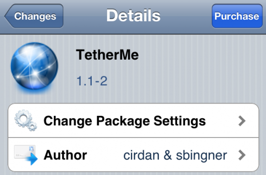 TetherMe Brings Native Tethering to the iPhone
