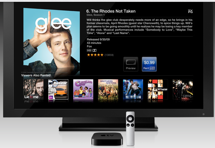 Apple TV Glee