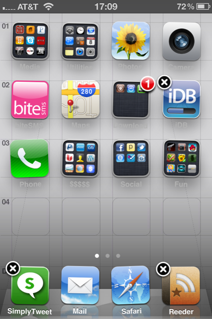 how to rearrange apps on iphone iphone tip rearranging your icons 5274