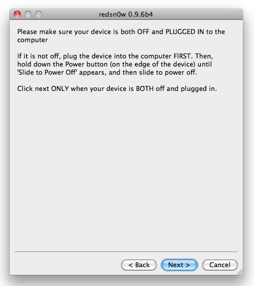 Jailbreak iPhone iOS 4 2 1 with RedSn0w