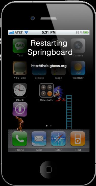 springboard iphone 3g