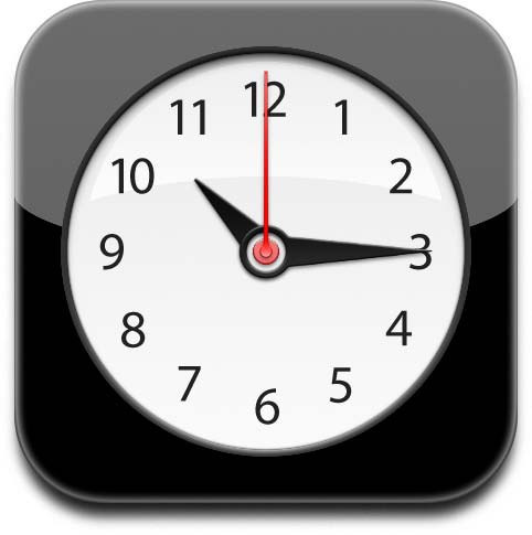 iPhone Clock icon