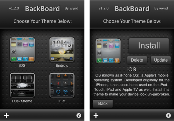 Easily Switch Springboard Configurations with BackBoard for iPhone