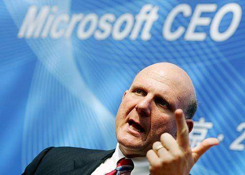 Microsoft's Steve Ballmer Calling the Shots