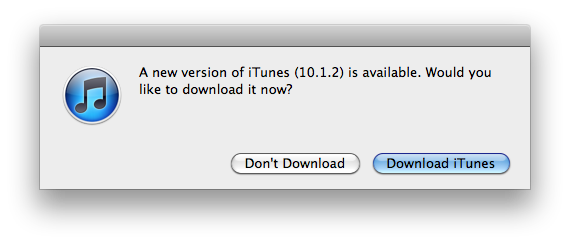 iTunes 10 1 2 Conveniently Drops Before the Verizon iPhone 4