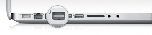 Thunderbolt port on Macbook