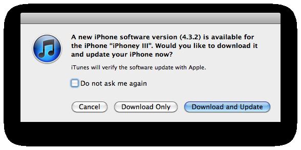 Apple Releases iOS 4 3 2 (4 2 7 for Verizon iPhone)
