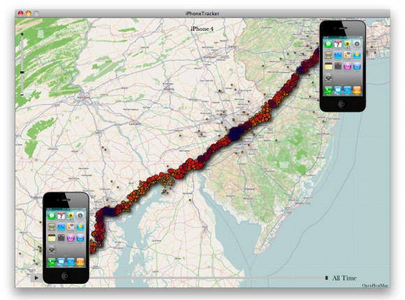 track iphone location closer look at iphone s location tracking database 13126