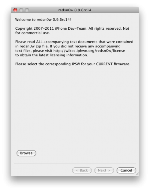 what is redsnow for iphone