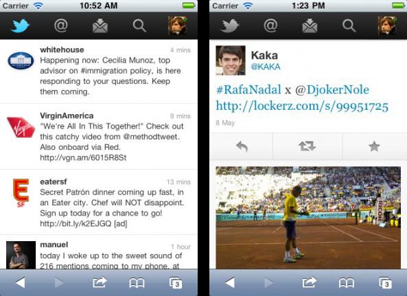 New Twitter Web App