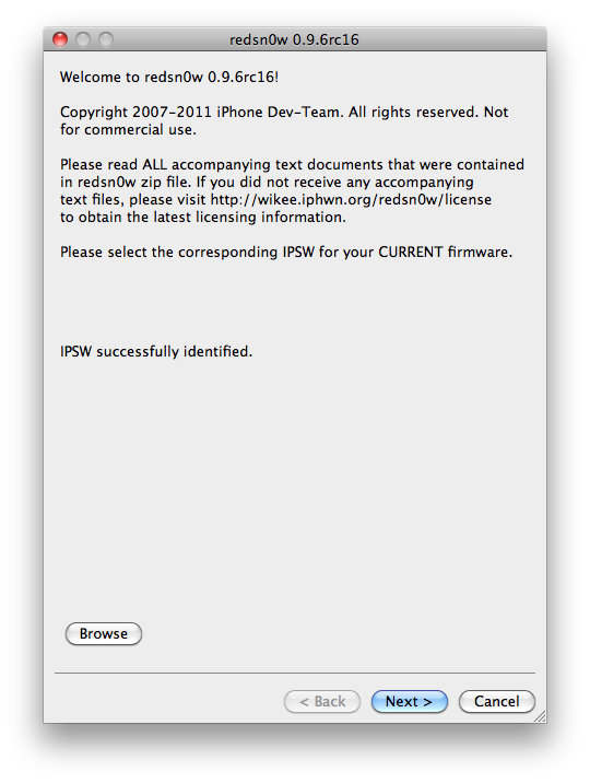 jailbreak iphone 3gs 4.1 redsn0w mac