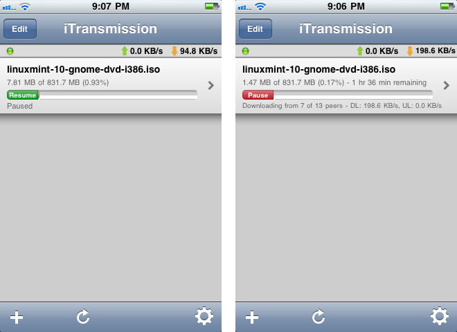 Download Torrents On Your iPhone With iTransmission