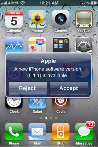 download iphone 5 update manually