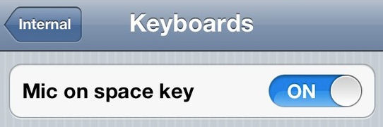 nuance voice recognition is in ios 5 after all. Black Bedroom Furniture Sets. Home Design Ideas