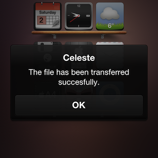 Celeste bluetooth file transfer app now available in cydia.
