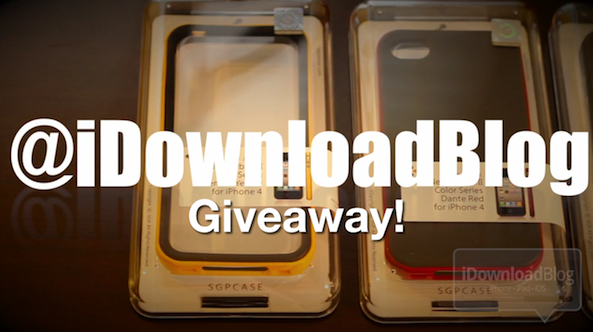 Giveaway iphone4 cases