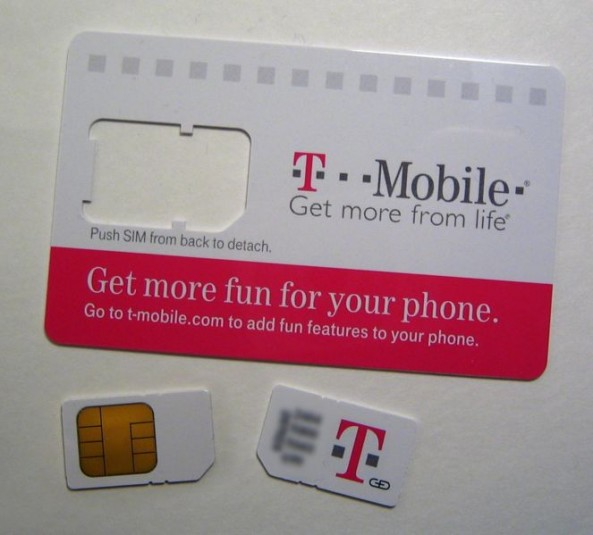 T-Mobile Now Selling Micro SIM Cards For IPhone 4