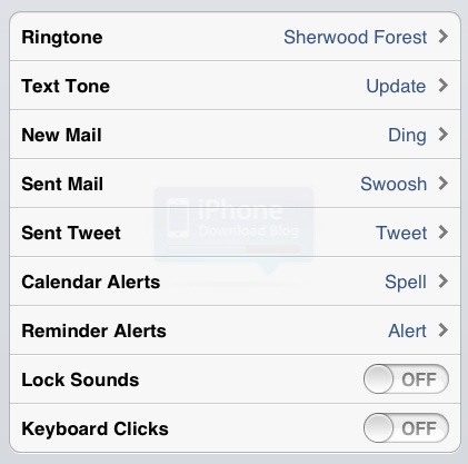 20 New Tones Available in iOS 5 Beta 3 [Updated]