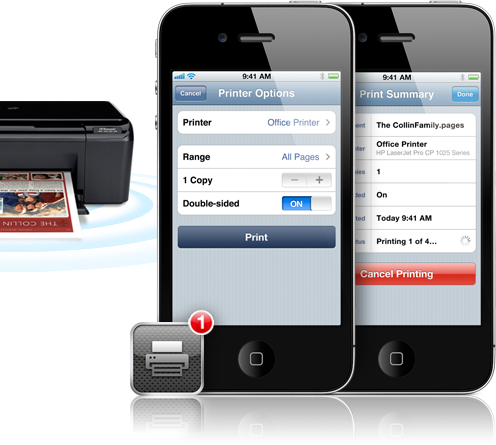 epson adds airprint support, hp takes the feature to the next level