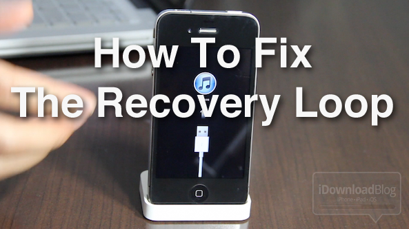 How to Fix the iPhone's Dreaded Recovery Loop and Downgrade