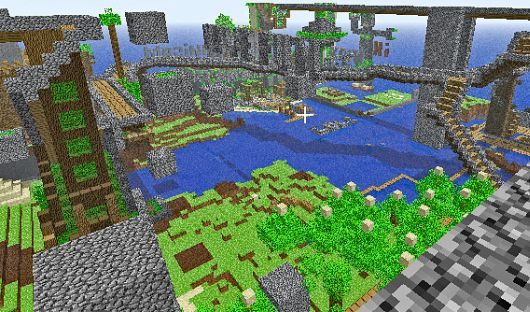 minecraft  u2013 pocket edition to gain bigger maps  improved ai  inventory and more