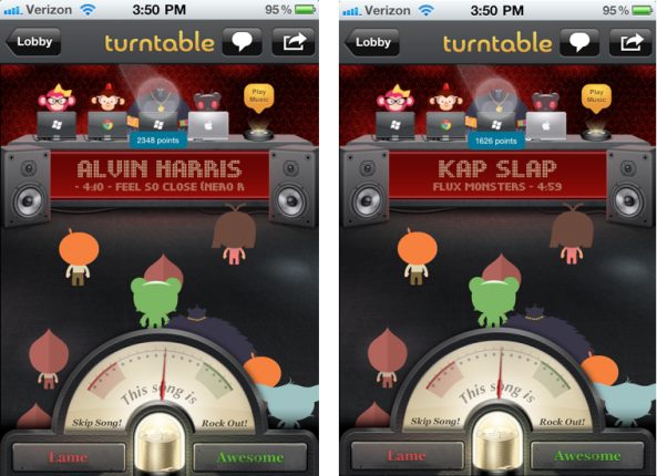 Soon You'll Be Able to DJ with Turntable fm for iPhone