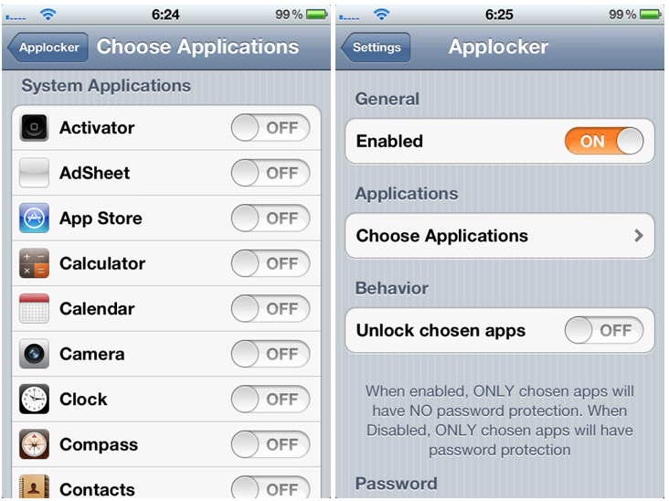 apps lock for iphone