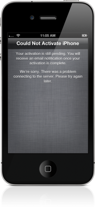 could not activate iphone apple s iphone activation servers knocked offline all 13896