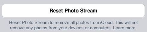photo stream delete photo step 3