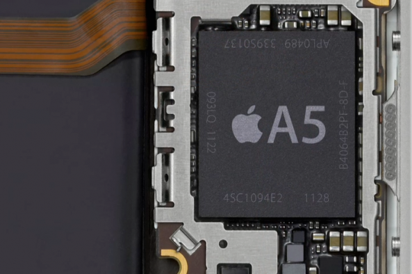iphone 4s a5 chip