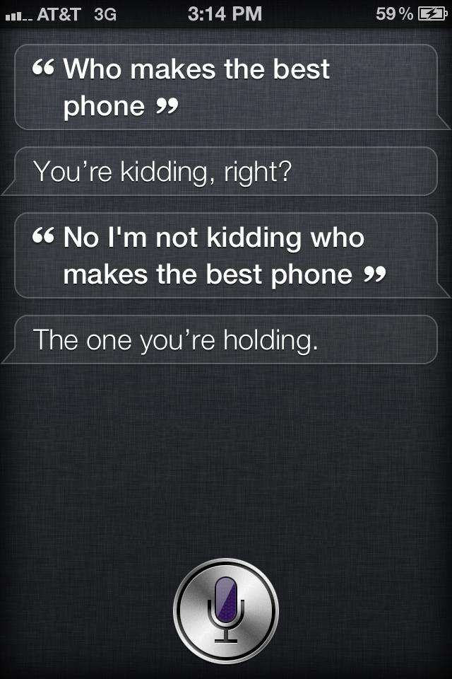 Siri best phone