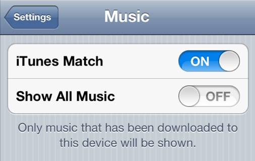 how to turn off icloud music library on windows