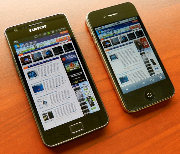 pocket now android vs iphone