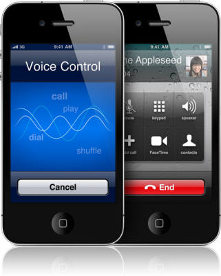 iphone voice control off ios 5 0 1 bug lets anyone make facetime calls on your 8397