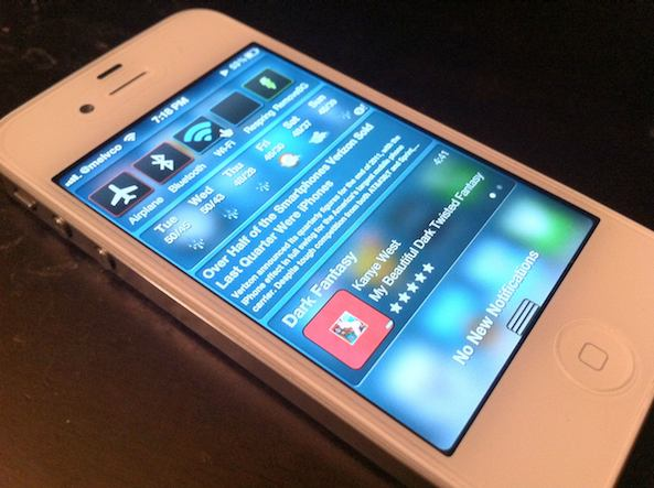 jailbroken iphone 4s