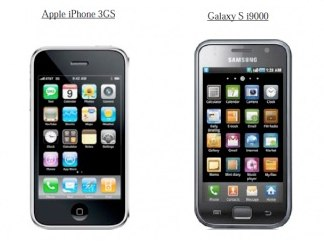 Desing comparison (iPhone 3GS vs Samsung Galaxy S)