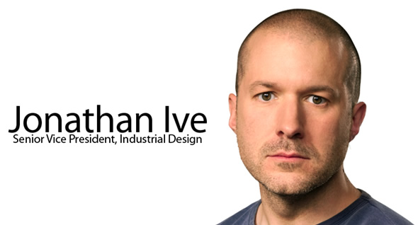 Jonathan Ive (headshot and title)