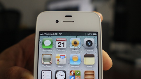 iPhone 4S Verizon LTE